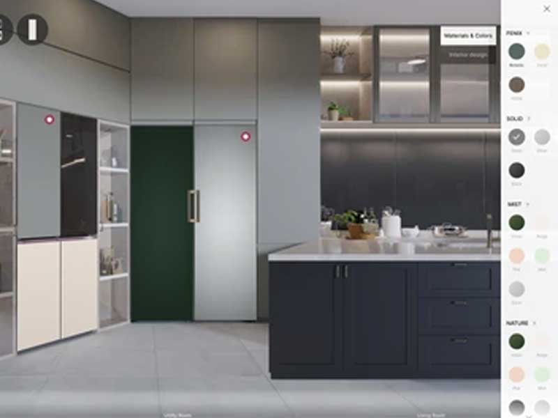 LG Interactive Experience to Design Appliances